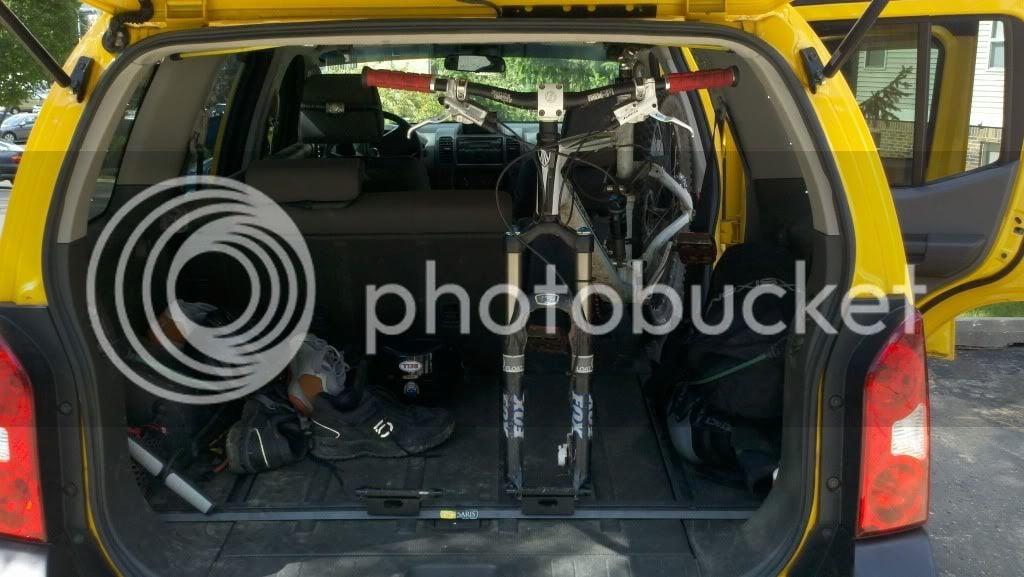 Bike Mount Options Second Generation Nissan Xterra Forums