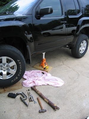 How-to: Install U-joints Without Removing Drive Shaft