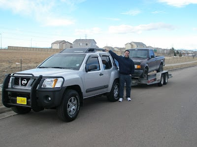 Towing at the Xterra's Limit   Second Generation Nissan