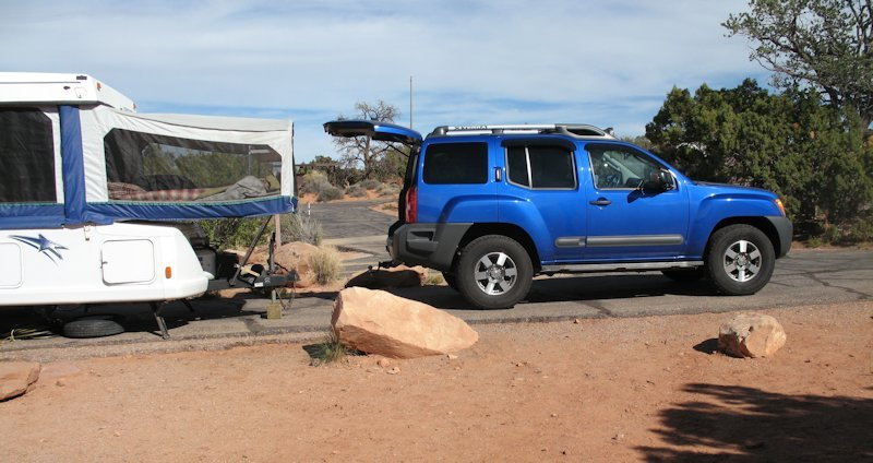 Pulling a Travel Trailer with an X   Second Generation Nissan Xterra