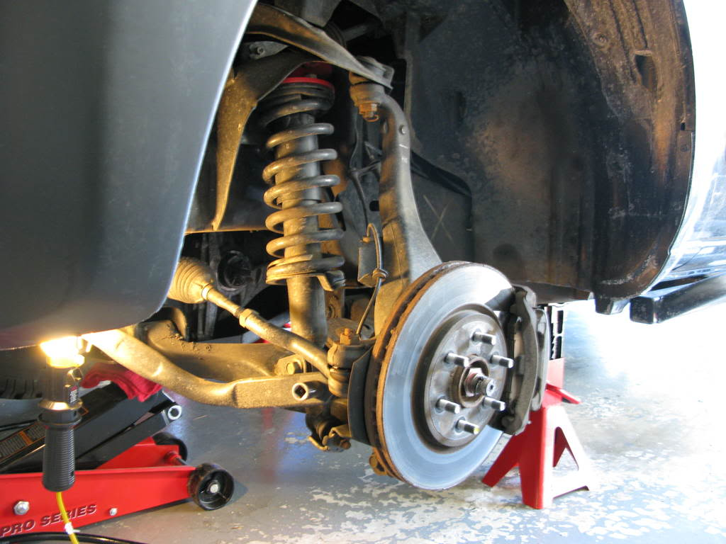 How-to: PRG Front Suspension Install - PBR - Second Generation Nissan Xterra  Forums (2005+)